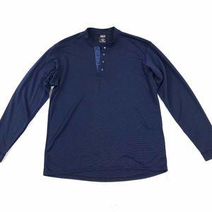 Patagonia Capilene LS Base Layer Henley Shirt Sz M